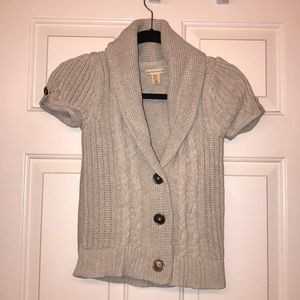 Girls button down cardigan sweater